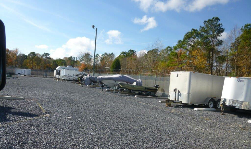 RV Storage Lot