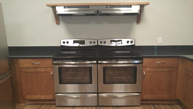 Stainless Steel, Glass Top Stove Ovens